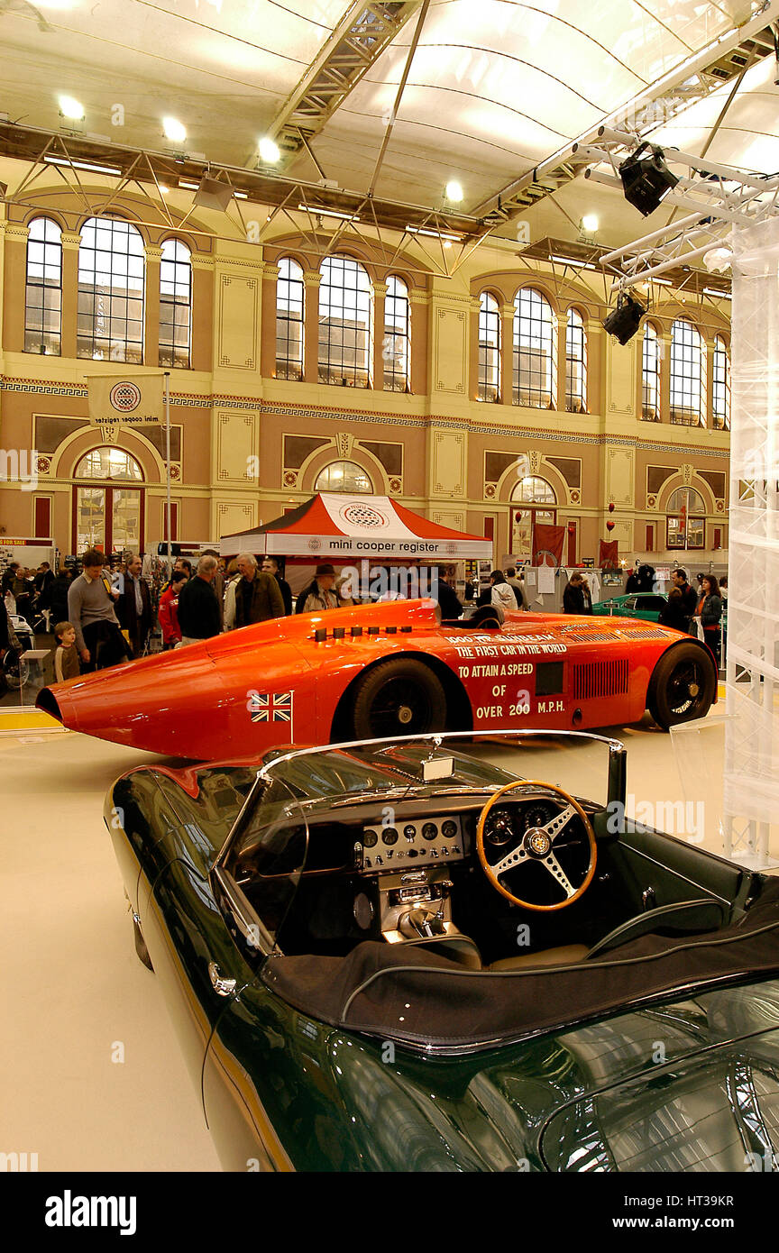 2004 Classic Cars Live Show at Alexandra Palace. Artist: Unknown. - Stock Image