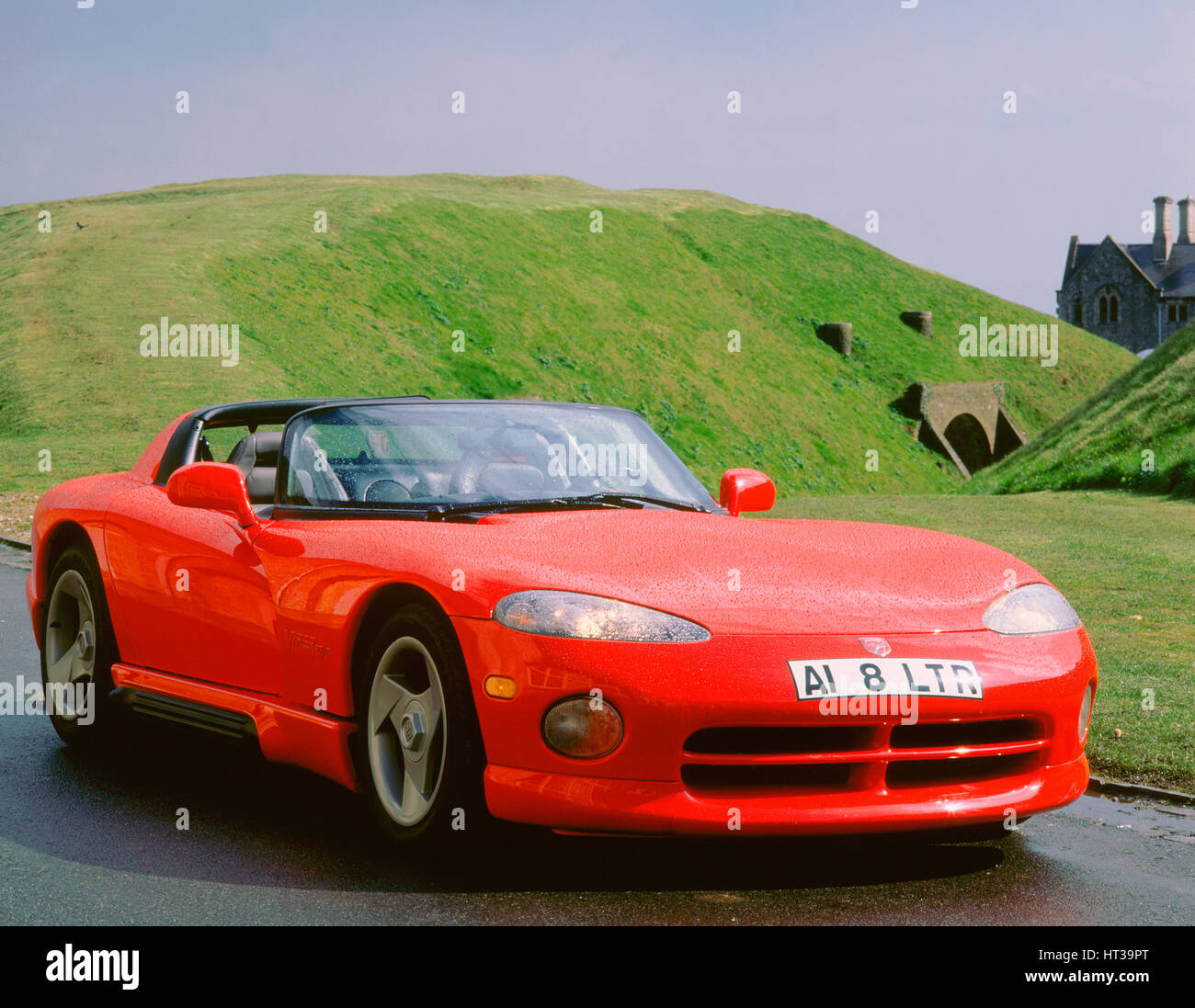 1993 Dodge Viper. Artist: Unknown. - Stock Image