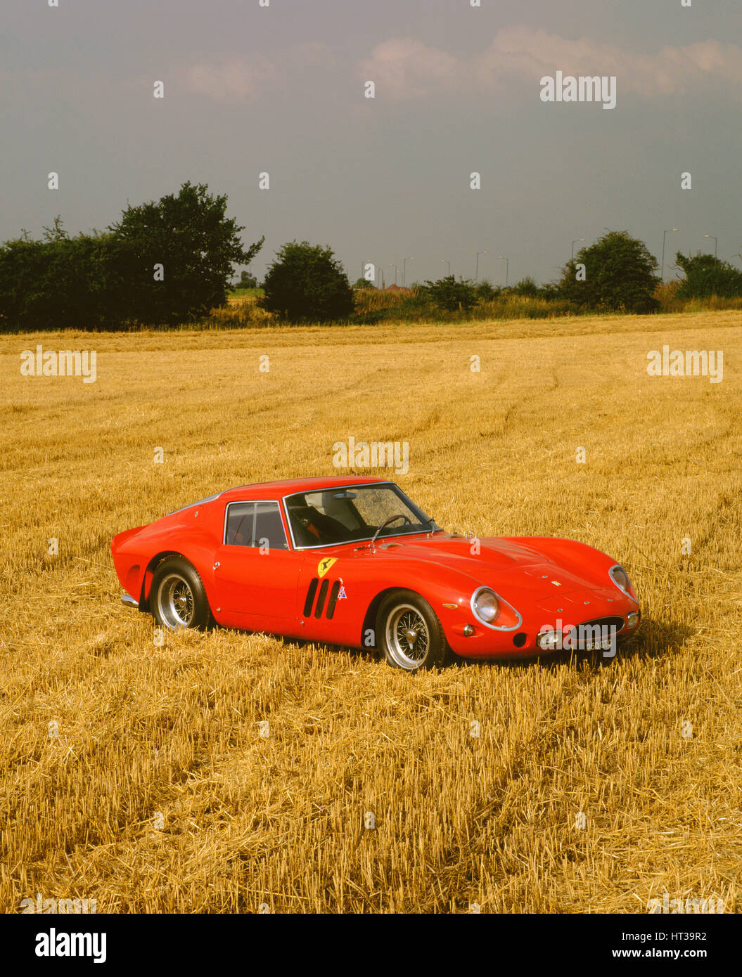 1963 Ferrari 250 GTO. Artist: Unknown. - Stock Image