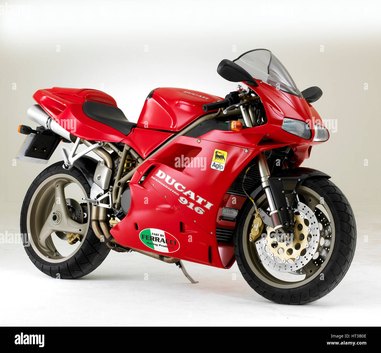 1995 Ducati 916. Artist: Unknown. - Stock Image