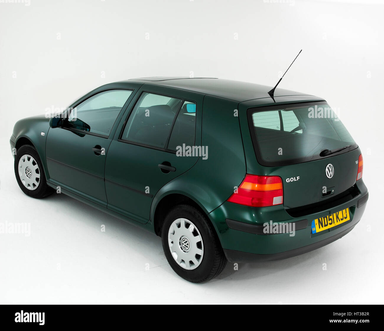 2001 VW Golf 1.6. Artist: Unknown. - Stock Image