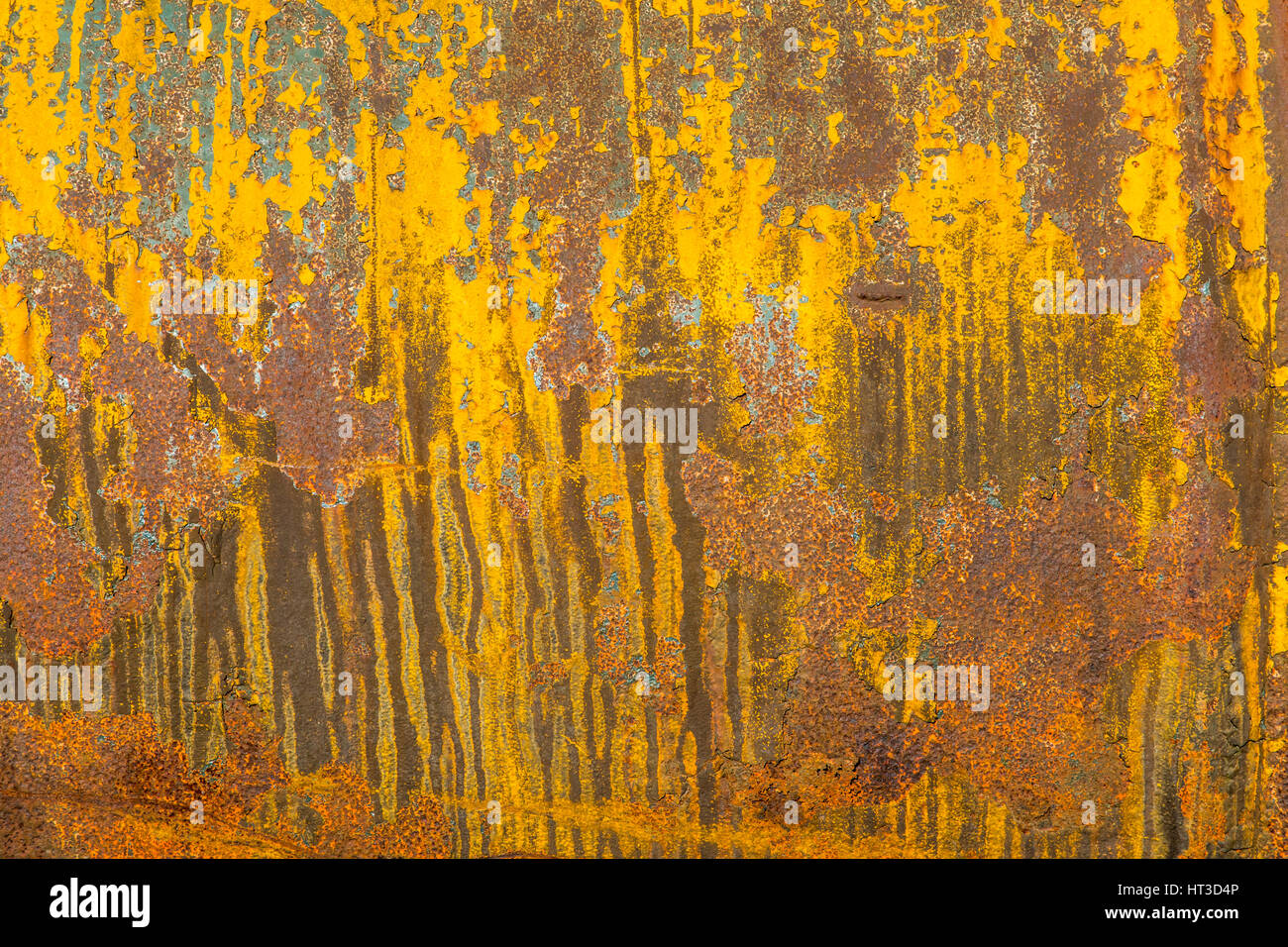 Rusty metal surface, structures, - Stock Image