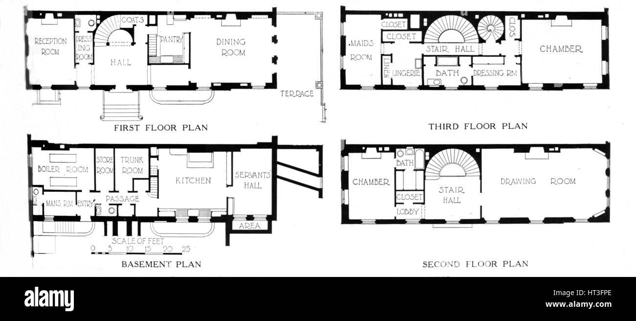 New york city house floor plans for New york house plans