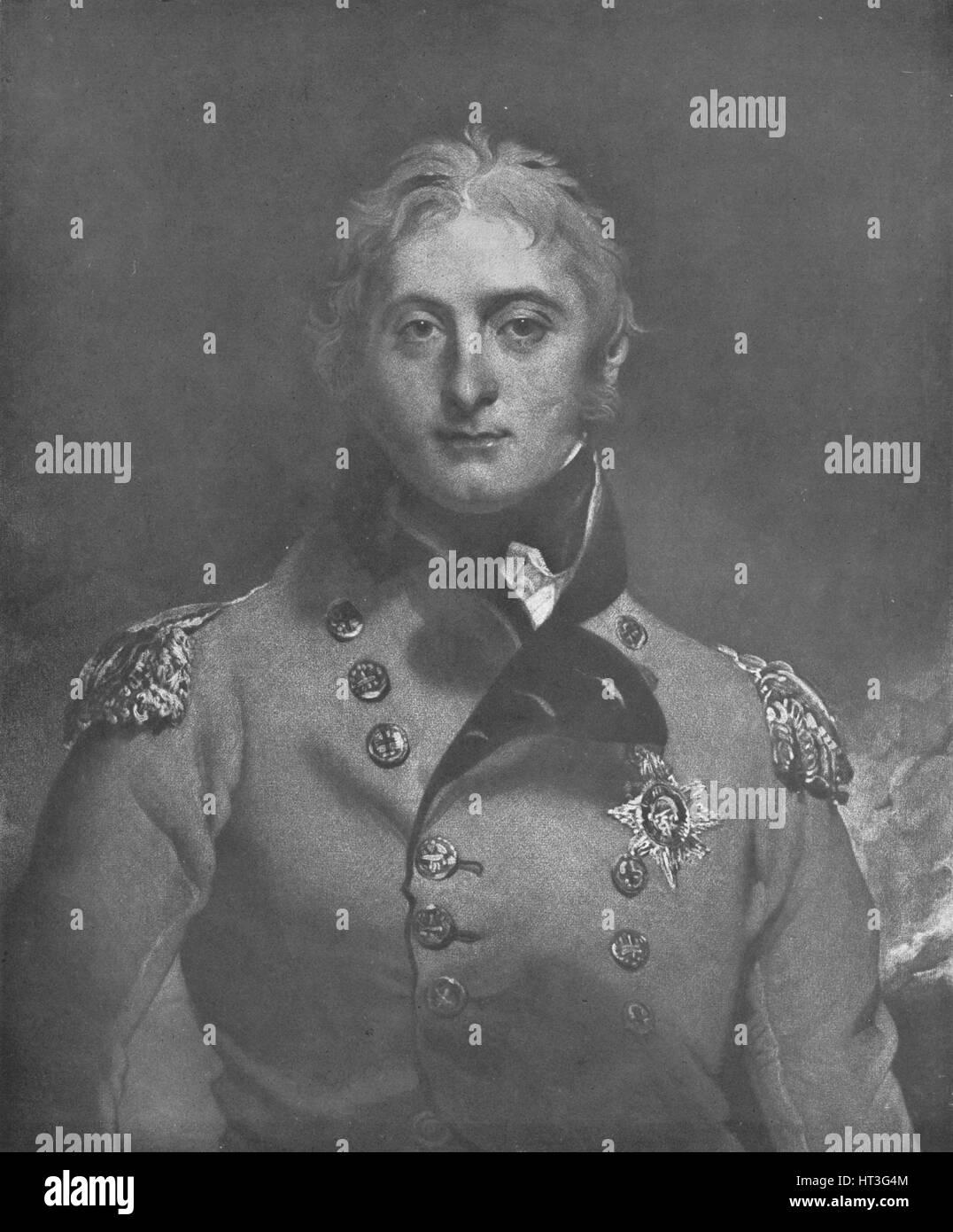 'Lieut. General Sir John Moore, K.B.', c1809 (1909). Artist: Charles Turner. - Stock Image