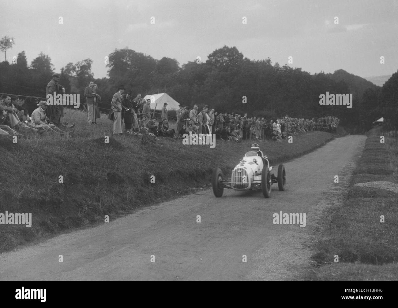 Austin 7 Of LP Driscoll Competing In The MAC Shelsley Walsh Speed