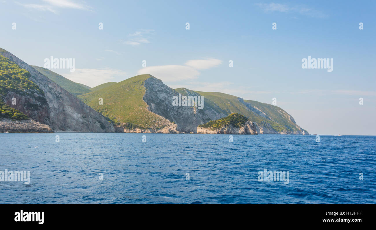 Ionian Islands Greece - Stock Image