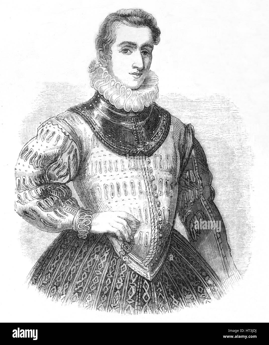 'Sir Philip Sidney', 1845. Artist: Unknown. - Stock Image