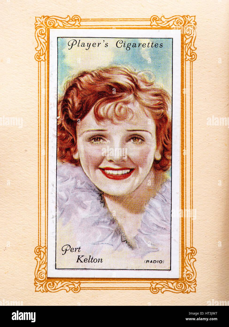 Pert Kelton, 1934. Pert Kelton (October 14, 1907[1] - October 29, 1968) was an American vaudeville, movie, radio - Stock Image