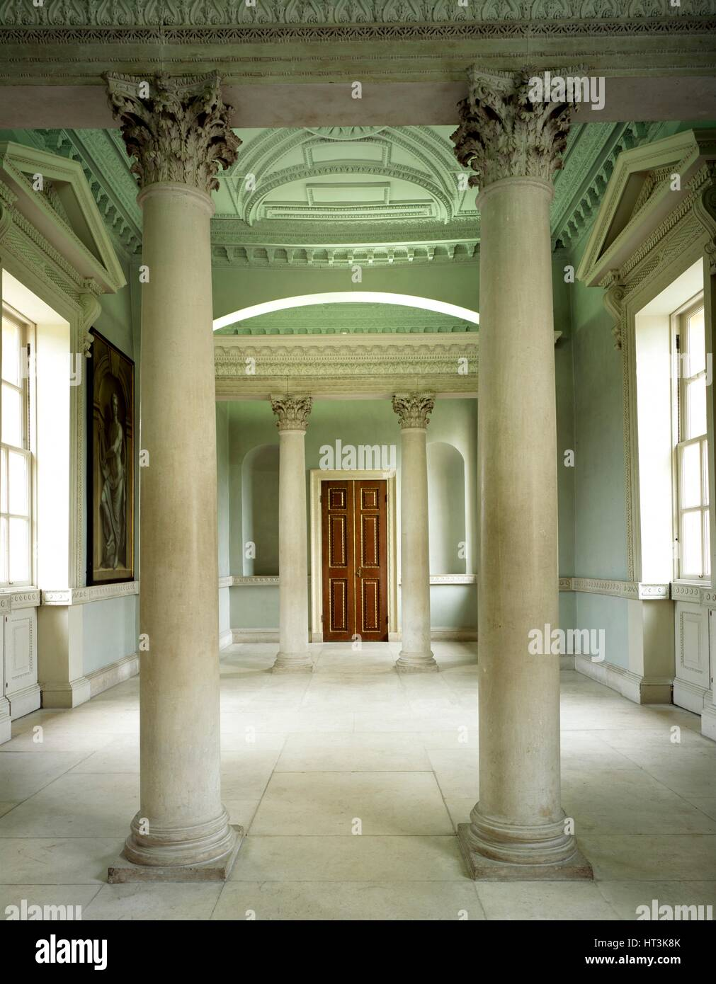 Chiswick House, c1990-2010. Artist: Unknown. - Stock Image