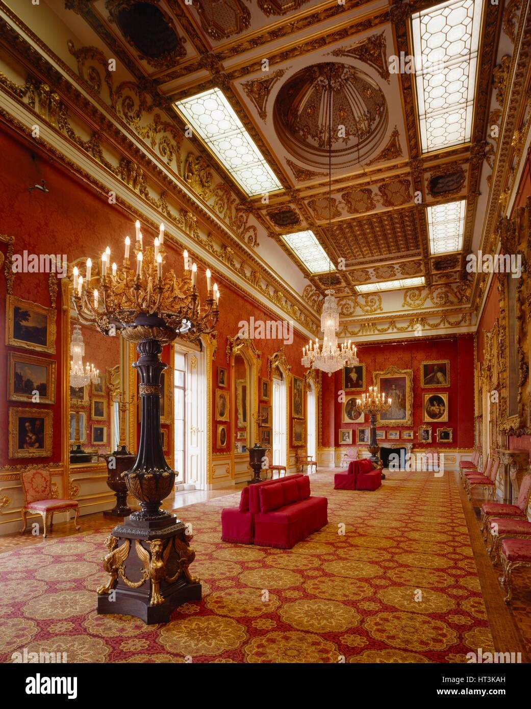 Waterloo Gallery, Apsley House, c1990-2010. Artist: Nigel Corrie. - Stock Image