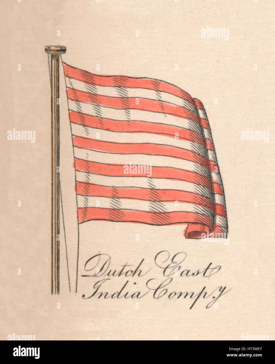 'Dutch East India Company', 1838. Artist: Unknown. - Stock Image