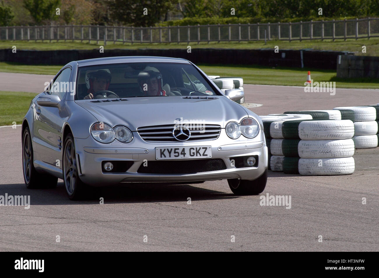 2004 Mercedes Benz 600 SLV12 Artist: Unknown. - Stock Image