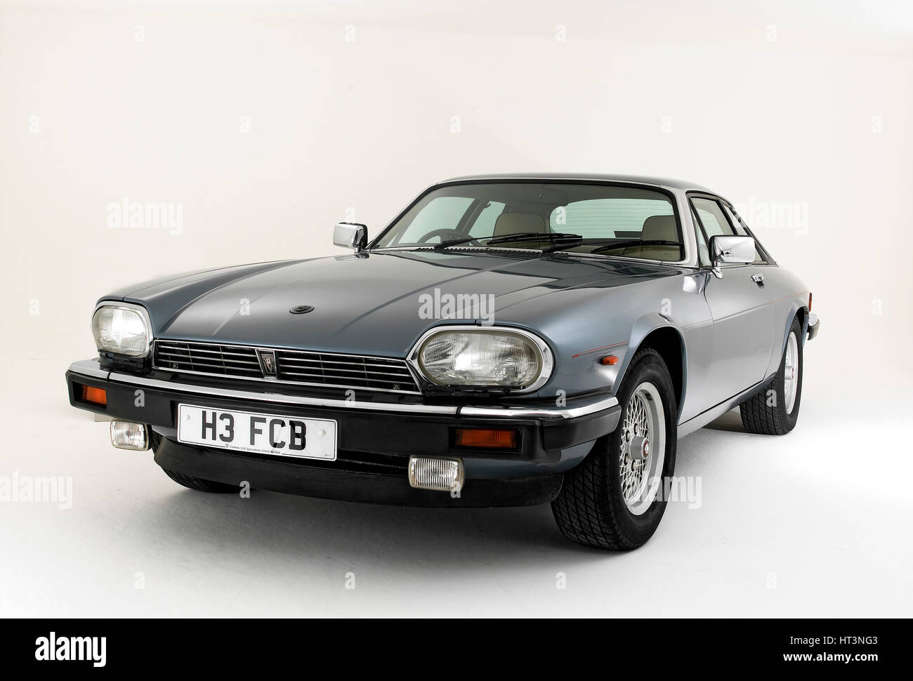 1991 jaguar xjs v12 artist: unknown  - stock image