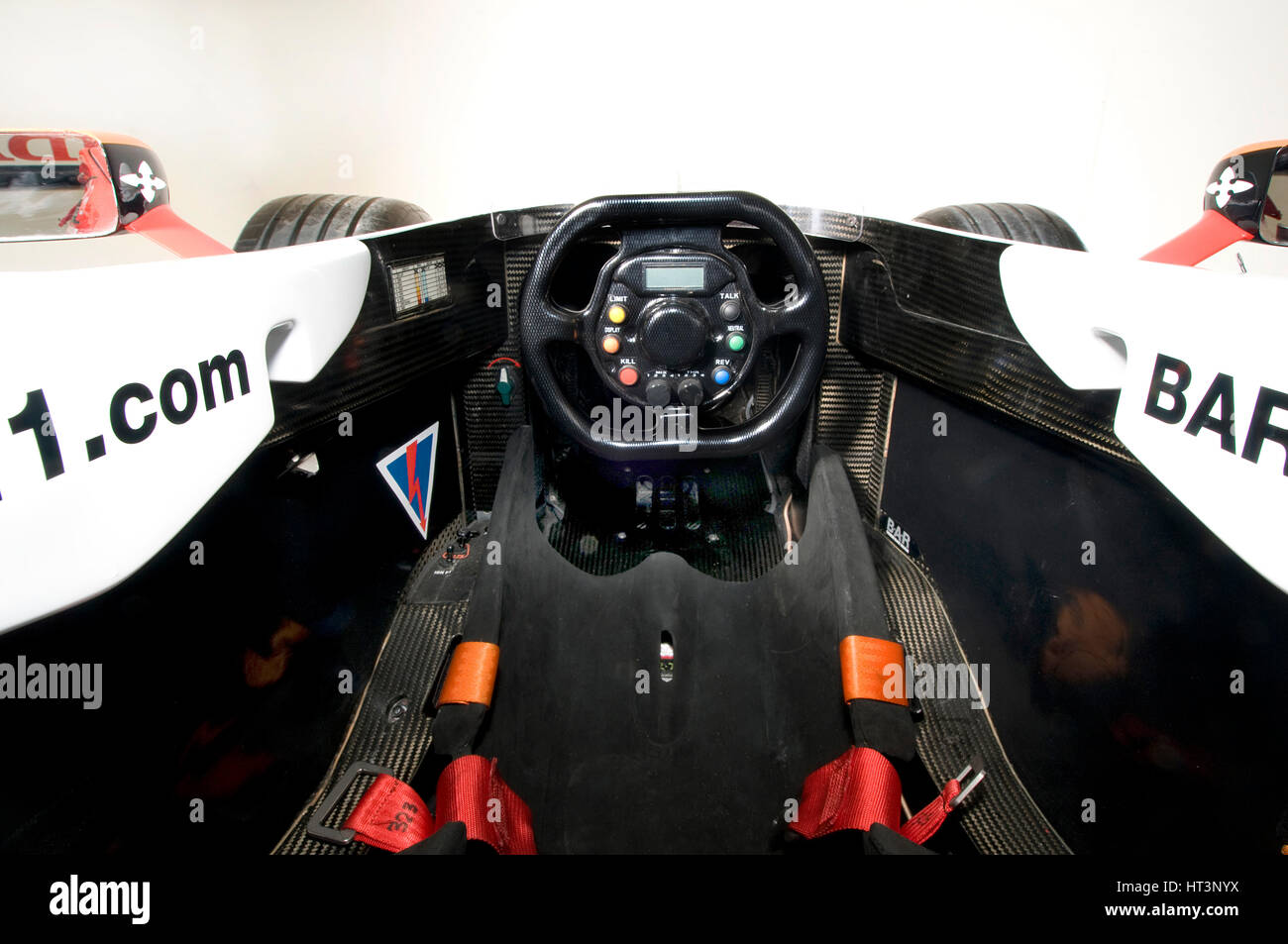 F1 Car Cockpit High Resolution Stock Photography And Images Alamy