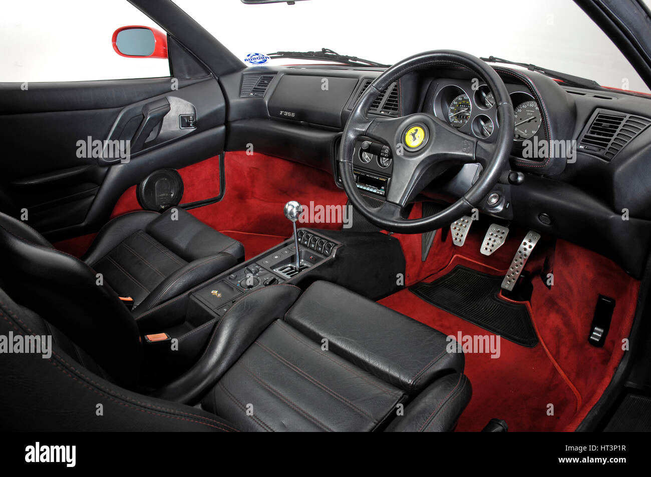 1994 Ferrari F355 Berlinetta Interior Artist Unknown Stock Photo Alamy