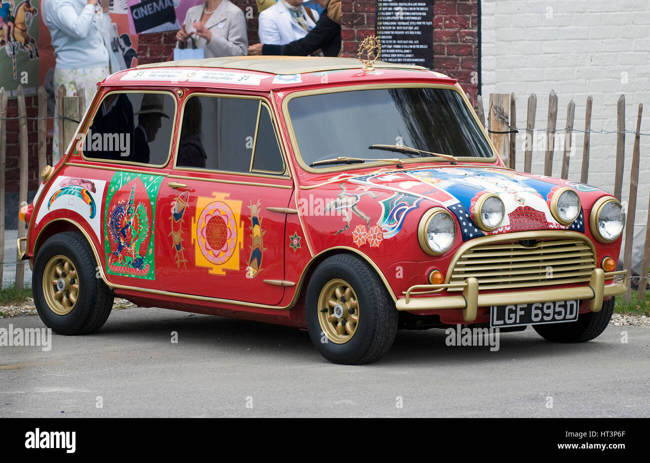 1966 Austin Mini Cooper S owned by Beatle George Harrison Artist: Unknown. - Stock Image