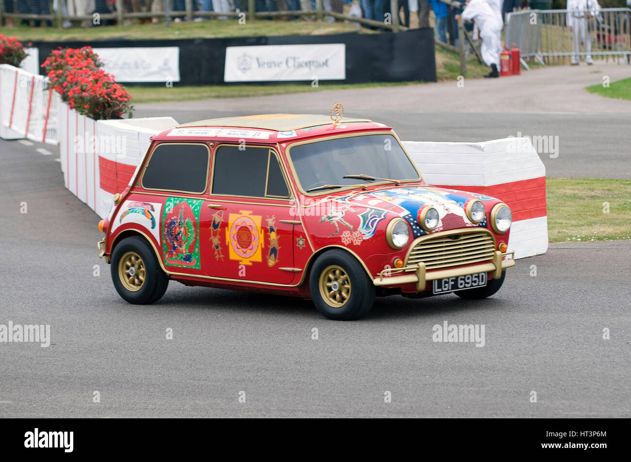1969 Austin Mini Cooper S owned by Beatle George Harrison Artist: Unknown. - Stock Image