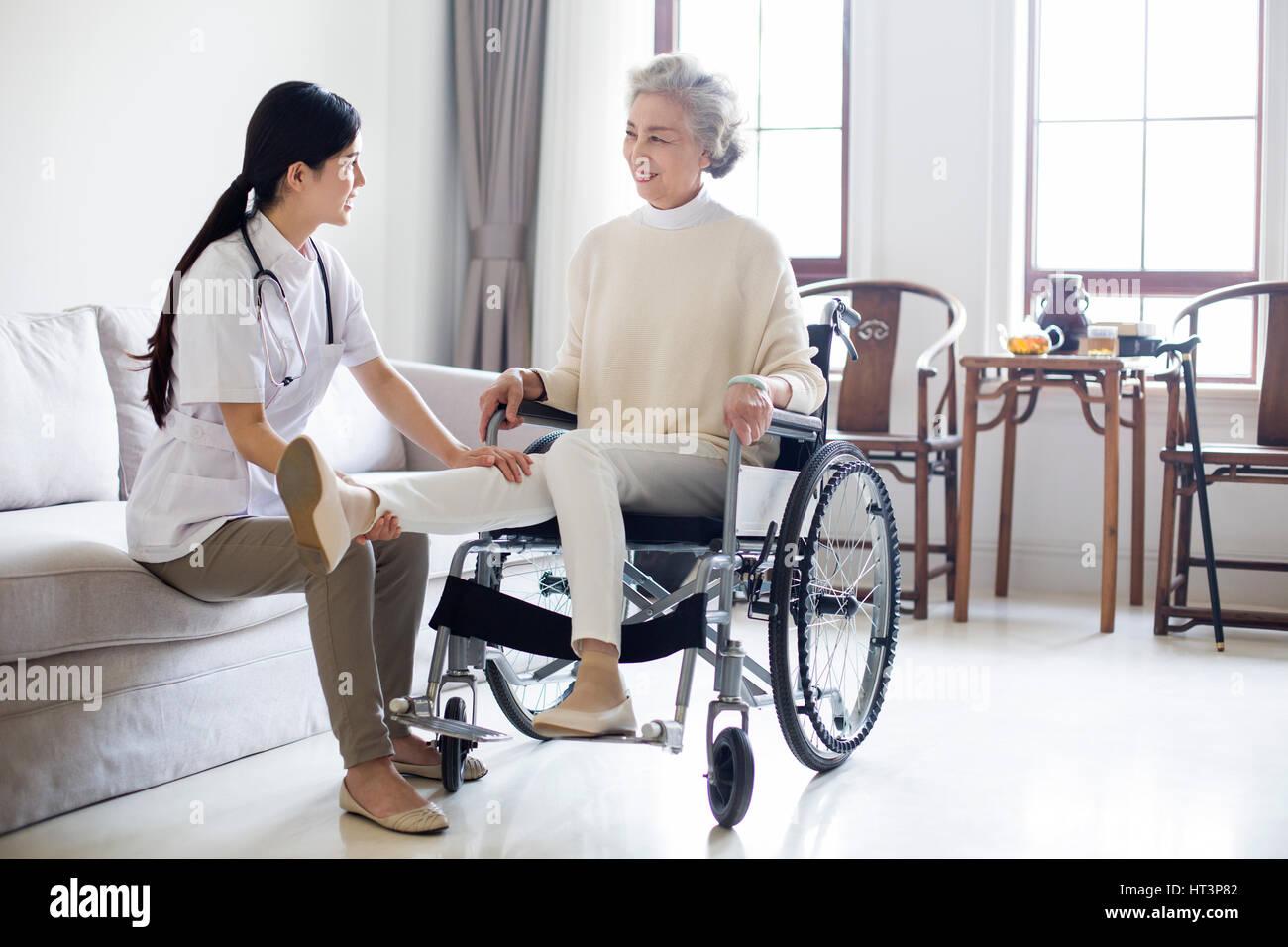 Style Wheelchair Women Stock Photos & Style Wheelchair ...