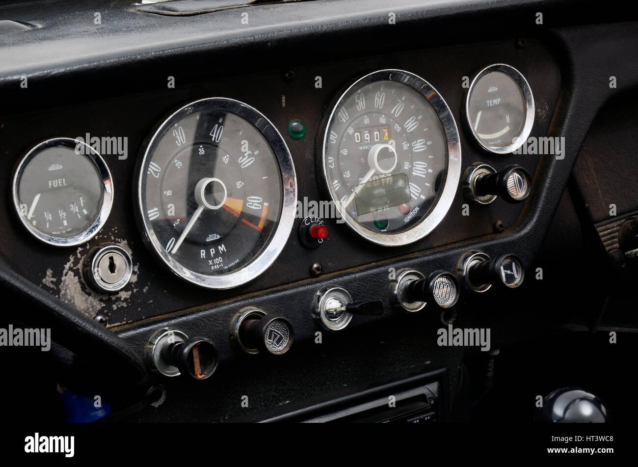 1966 Triumph Spitfire Mk2 Artist Unknown Stock Photo 135310120 Alamy