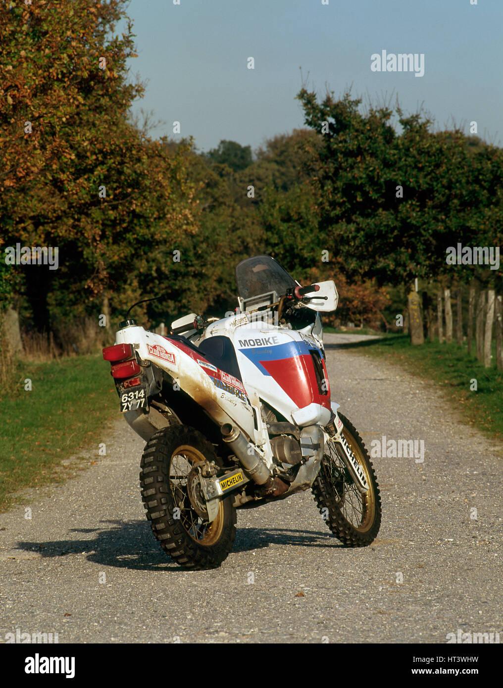 1991 Honda 750 Africa Twin Artist Unknown Stock Photo Alamy