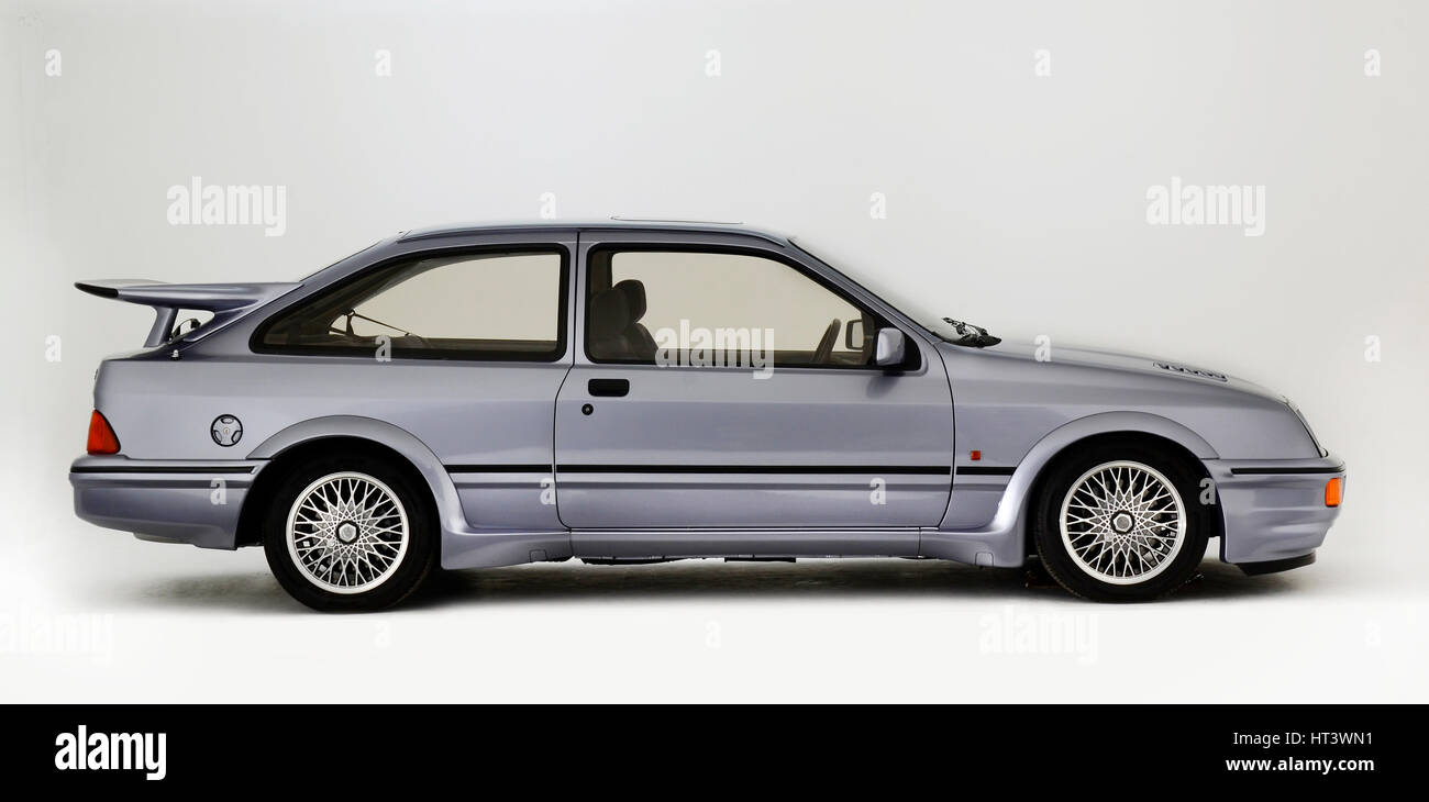 1987 Ford Sierra RS Cosworth Artist: Unknown. - Stock Image