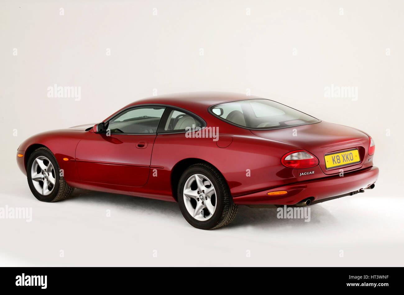 1999 Jaguar XK8 coupe Artist: Unknown. Stock Photo