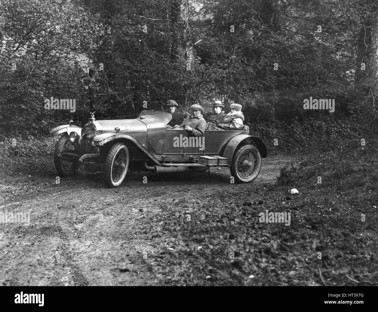 1920 Straker Squire 24-80 hp Artist: Unknown. - Stock Image