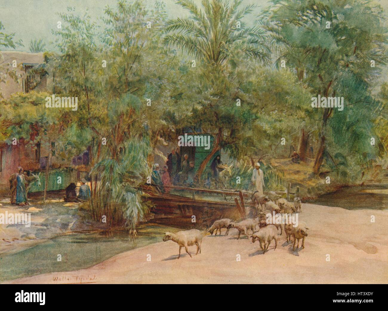'The Village of Marg', c1905, (1912). Artist: Walter Frederick Roofe Tyndale. - Stock Image