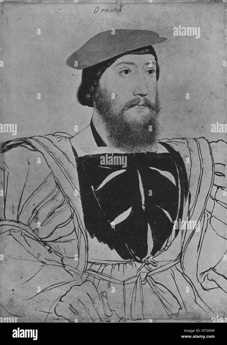 'James Butler', c1537 (1945). Artist: Hans Holbein the Younger. - Stock Image