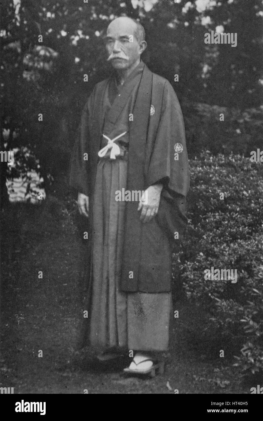 'Viscount Kentaro Kaneko, (1853-1942)', c1900, (1921).  Artist: Julian Leonard Street. - Stock Image