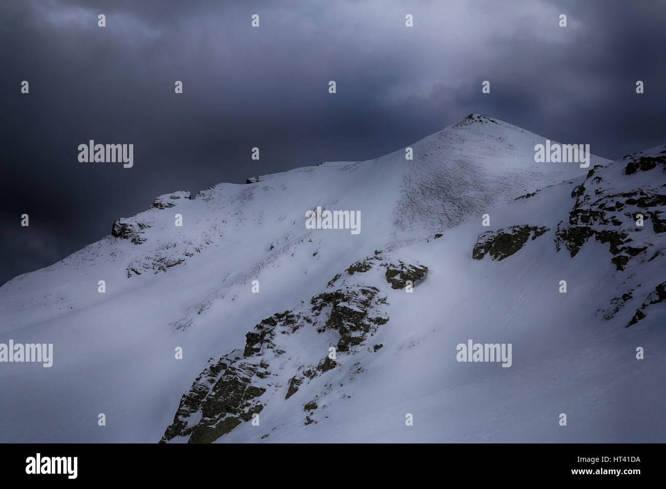 Rudoka / Maja e Njeriut the highest peak of Kosovo on the border with Macedonia Stock Photo