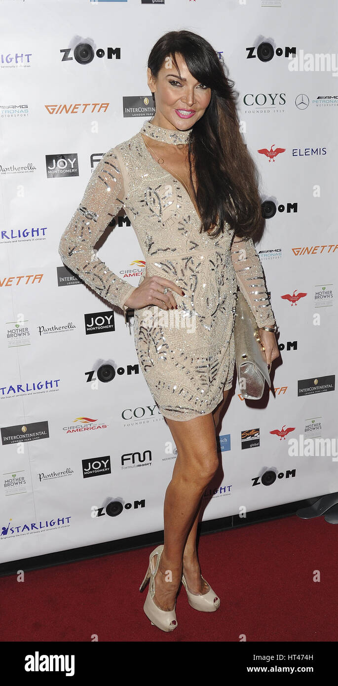 Watch Lizzie cundy at zoom auction charity gala in london video
