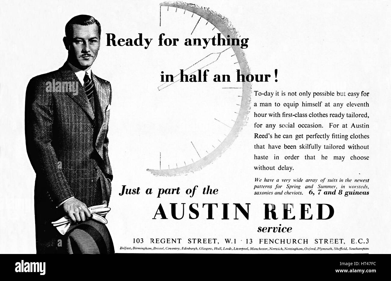 Austin Reed Ready For Anything In Half An Hour 1937 Artist Stock Photo Alamy