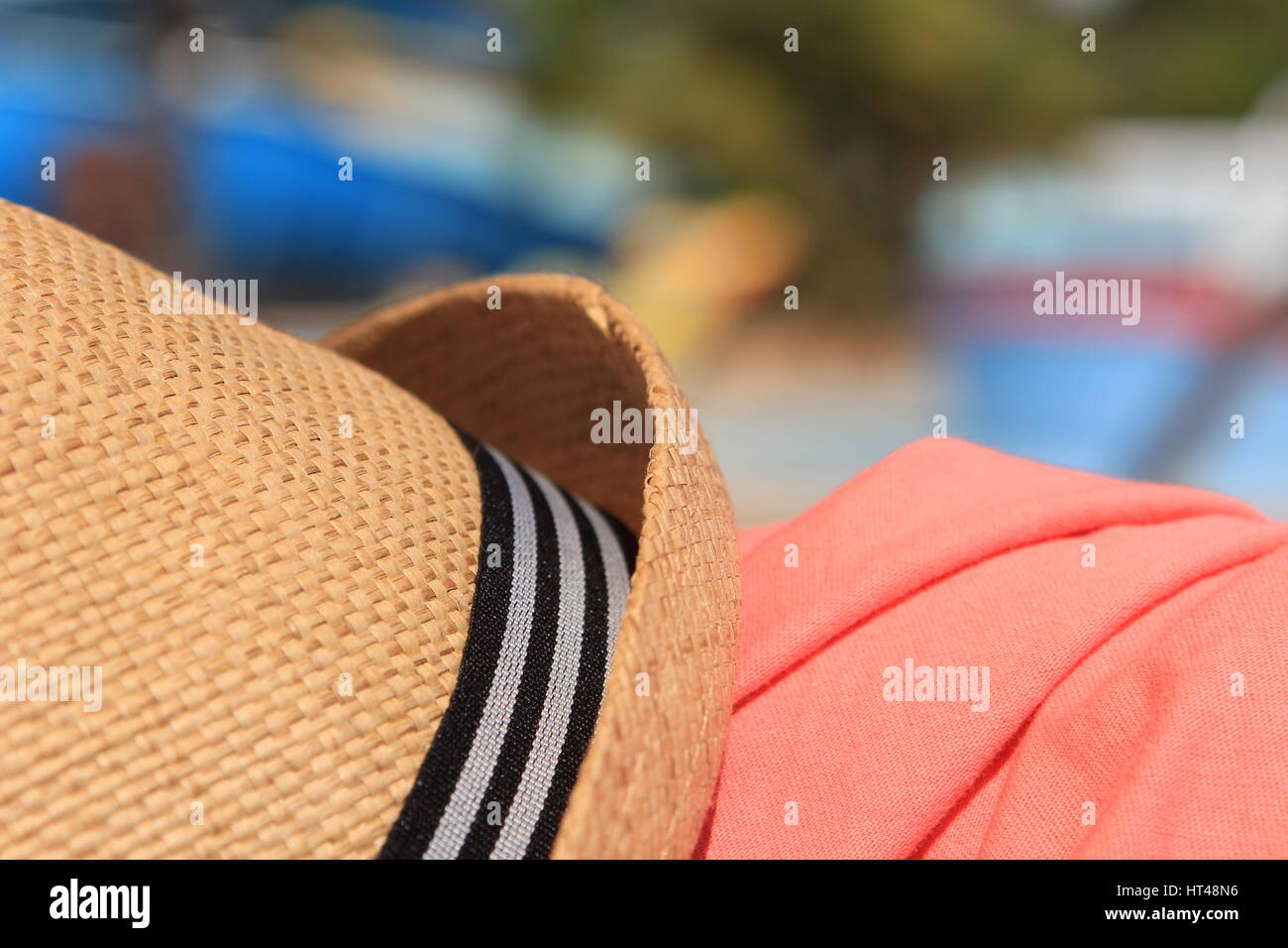 0f480fc6 Pink Trilby Hat Stock Photos & Pink Trilby Hat Stock Images - Alamy