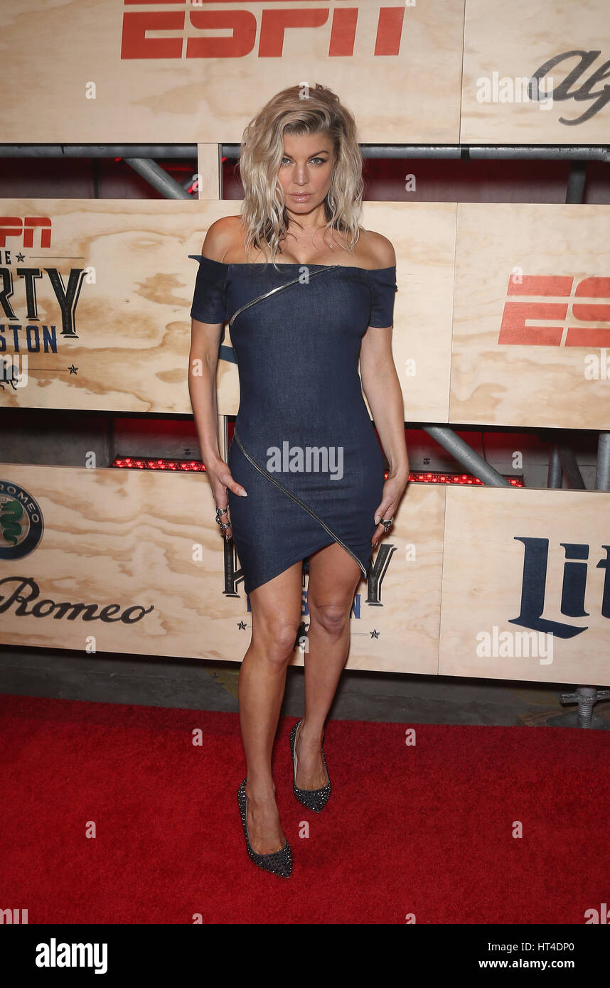 ESPN The Party Houston - Arrivals Featuring: Fergie Where