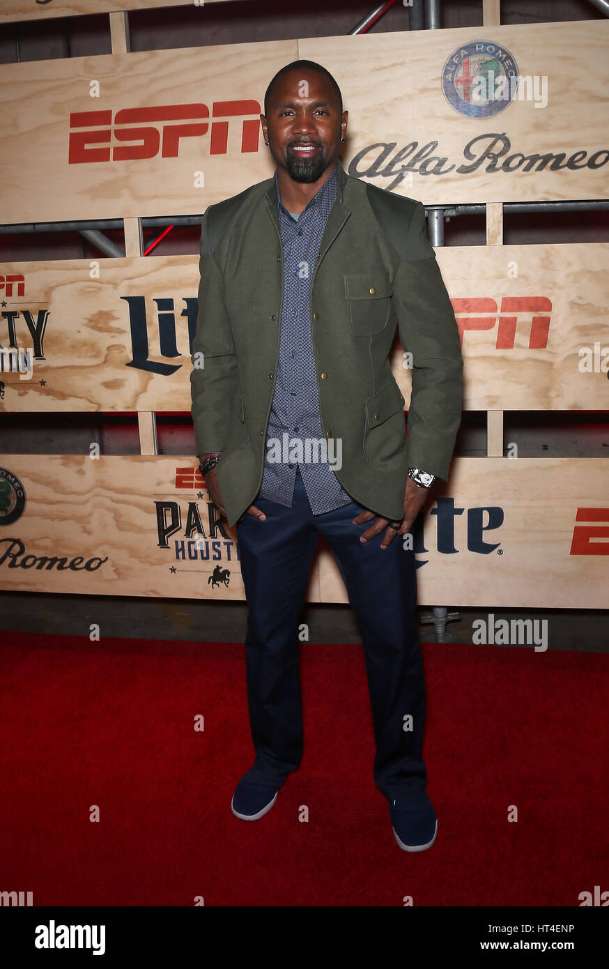 ESPN The Party Houston - Arrivals Featuring: Charles Woodson