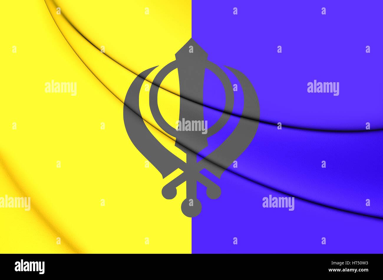 of khalistan flag