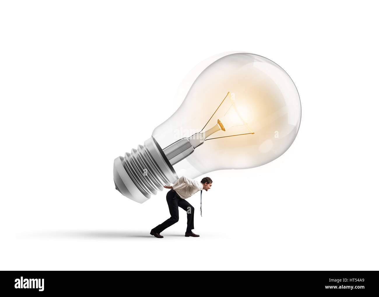 Have a great idea to be realized - Stock Image