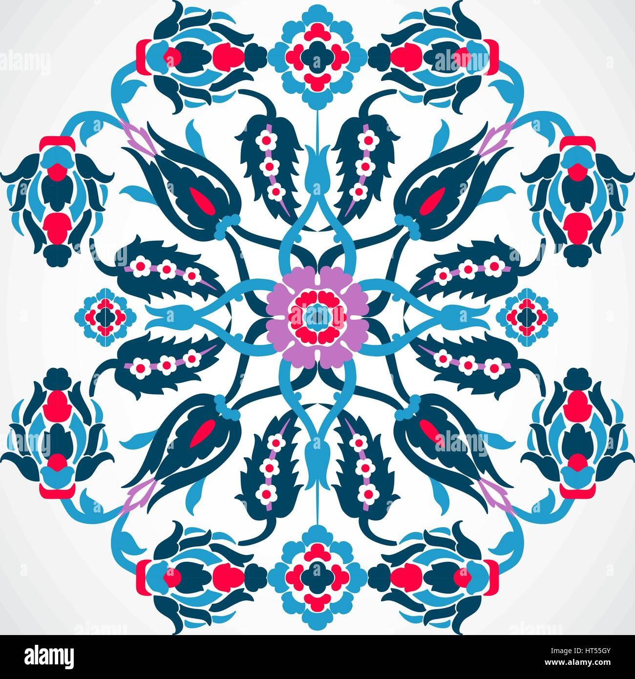 bcdaedc02cf2 Arabesque vintage frame border for design template vector. Eastern style  pattern. Elegant floral decoration print. Ornamental illustration for  invitat