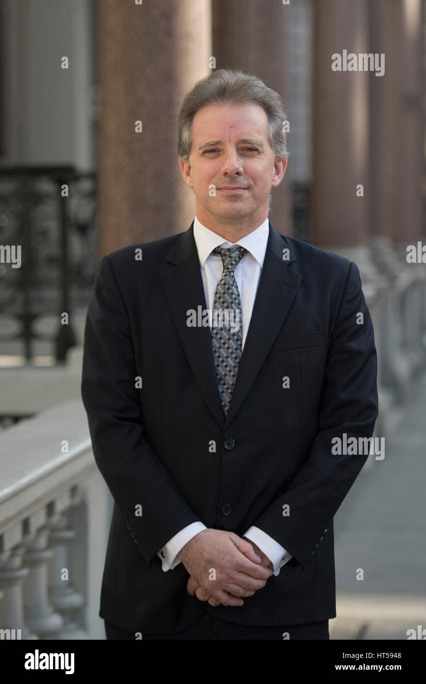 Christopher Steele, the former MI6 agent who set-up Orbis Business Stock  Photo - Alamy