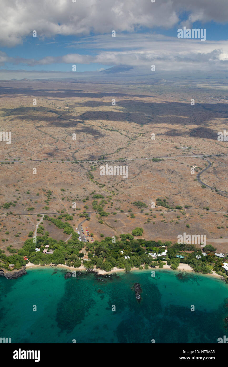 big view photography. Simple View Aerial View Of Beach 69 On The West Coast Big Island Hawaii USA With  Summit Mauna Kea Hidden Behind Clouds In Backdrop With View Photography T