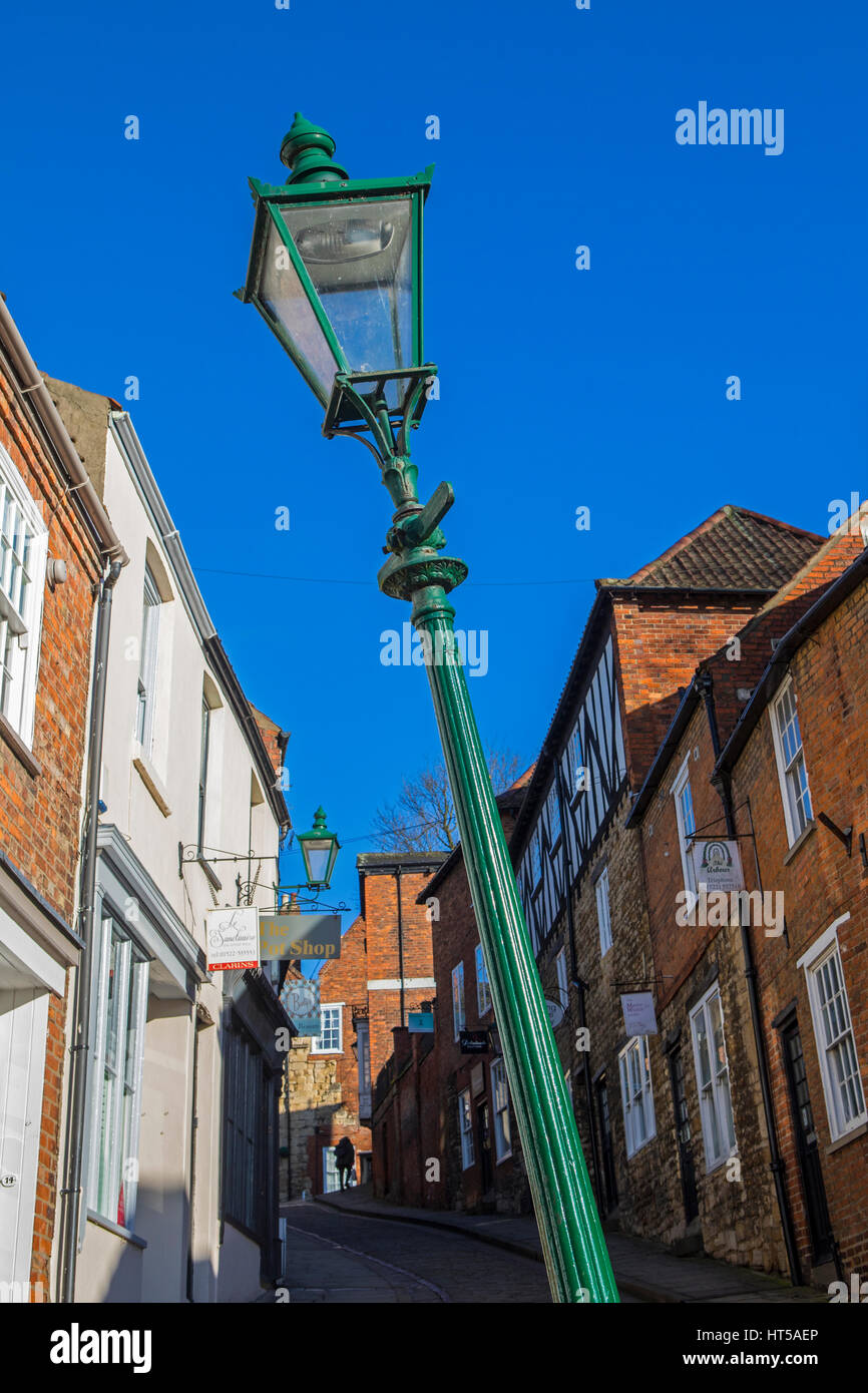 Leaning Lamp Post Stock Photos Amp Leaning Lamp Post Stock