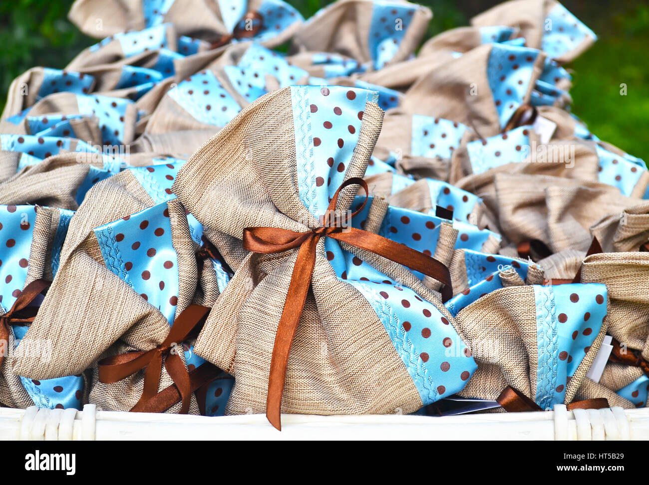 Baby Boy Greek Christening Favors Stock Photo 135342769 Alamy