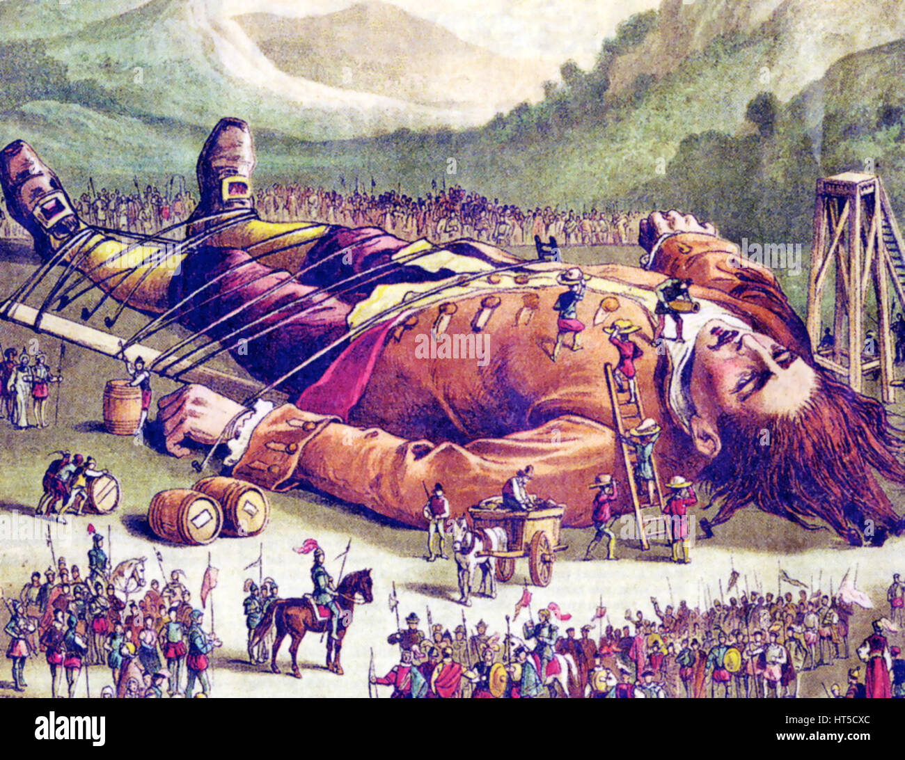 imagery in the gulliver travels Literary analysis essay: gulliver's travels gregg poisel hum 3000 although the textbook uses only an excerpt from part one of the story, the author tells a tale that provides interesting perspectives and symbolism on humanity's dichotomy of power and servitude.