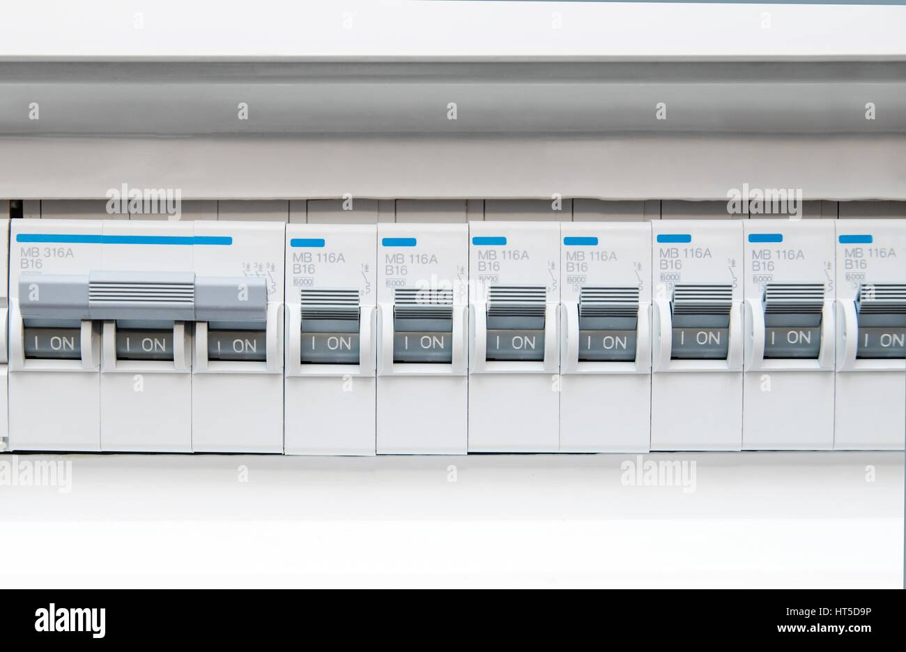 Electric Fuse Box Stock Photos Images Alamy Not Working Front View Image