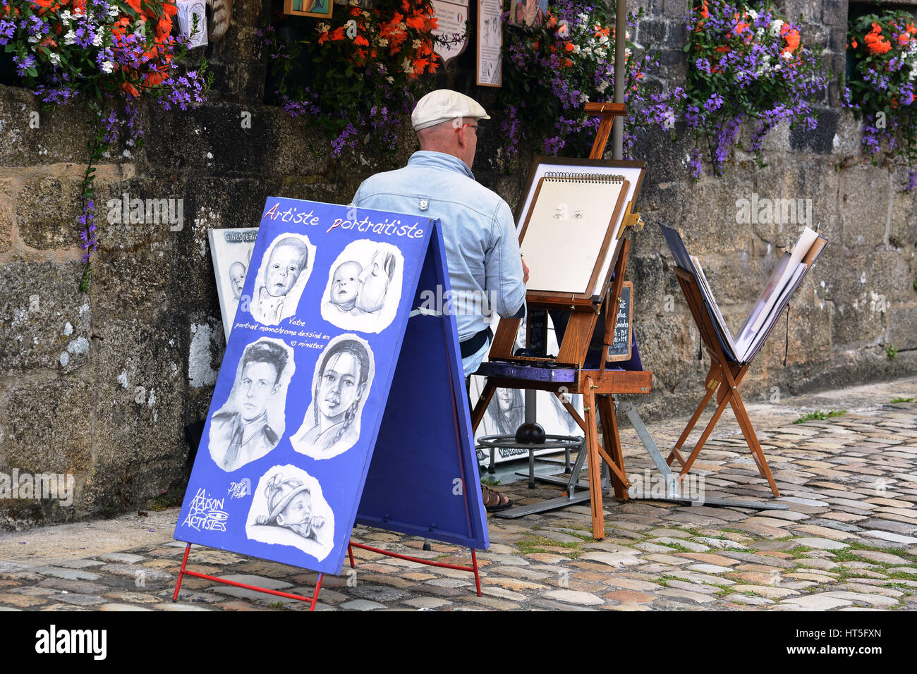 caricatures . - Stock Image