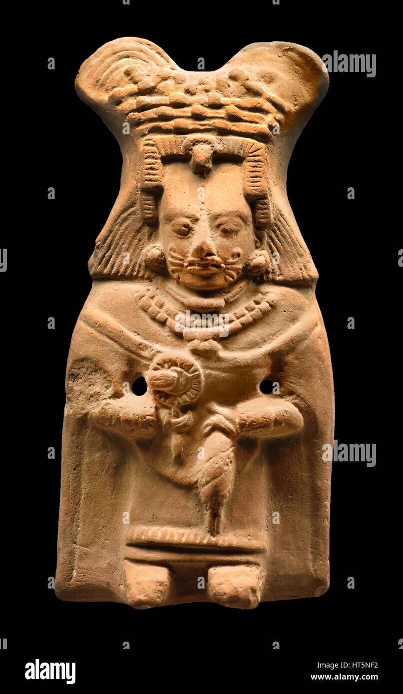 Late Classic Guatemala - Maya  -  Mayans - Mayan Mexico Mesoamerican - Pre Columbian civilization  Central America - Stock Image