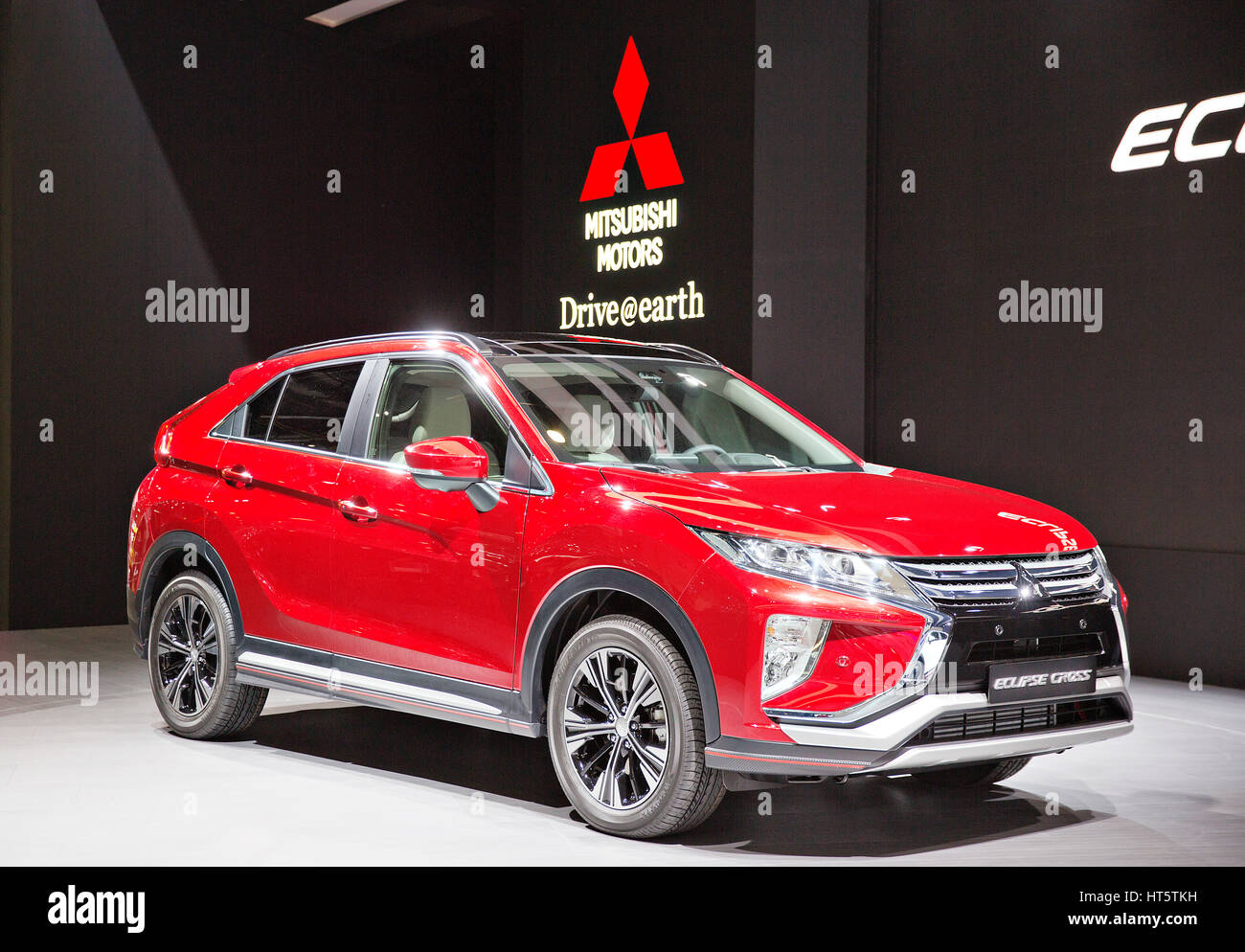 Mitsubishi Eclipse Cross   Stock Image