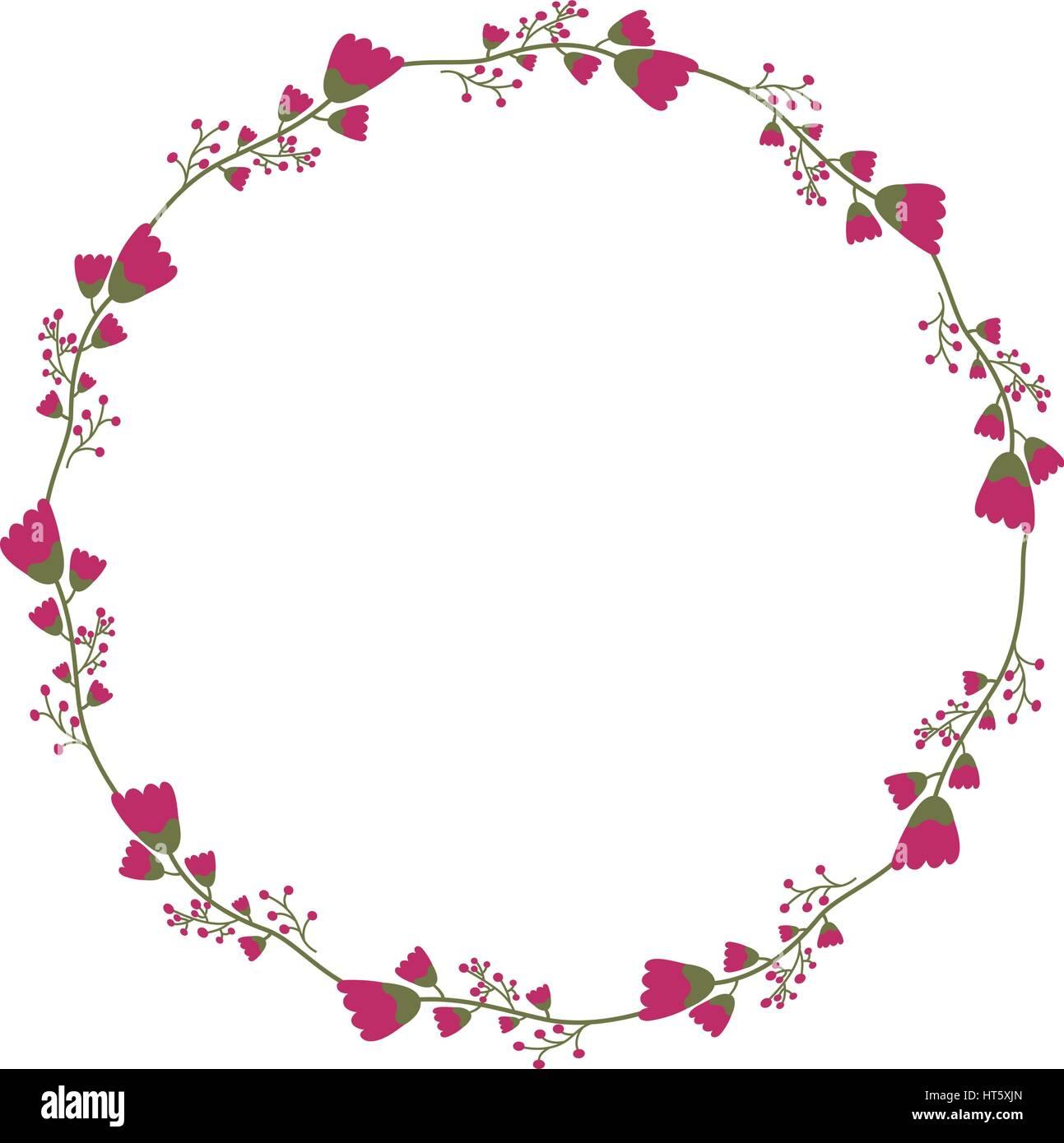Decorative Floral Crown Icon Stock Vector Art Illustration Vector