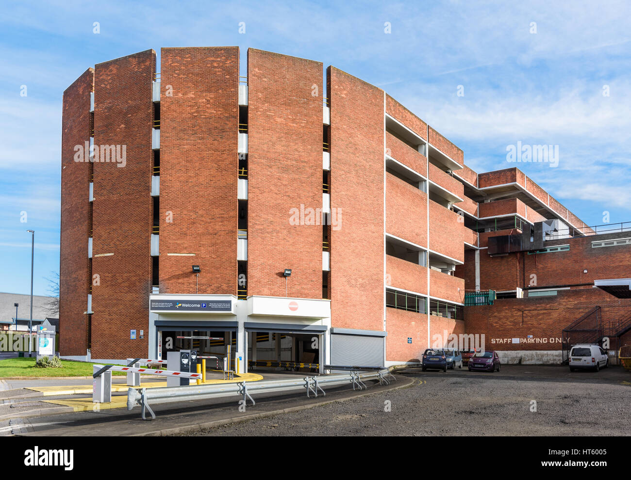 Newlands shopping centre, Kettering. - Stock Image